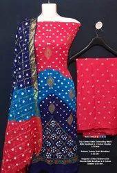 Cotton Satin Suit