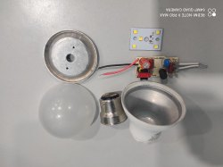 5W Philips Type LED Bulb Raw Material SKD(HPF Driver/Osram LED 130-140LM/Watt)