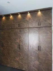 Laminated Plywood Wardrobe