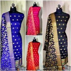 Banarasi Jacquard Suits