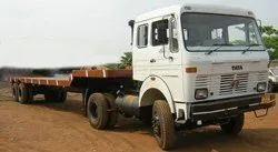Semi Low Bed Trailer Transportation Service