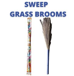 Sweep Long Handle Grass Brooms