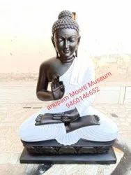 Marble Buddha Statue 12 Inches