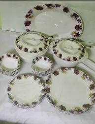Melamine Flora Dinner Set