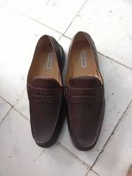 Tpr Brown Leather Shoe