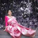 Soft Lichi Silk Sarees