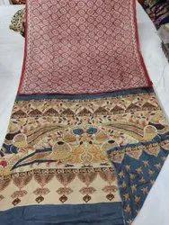 Silk Ajrakh Sarees
