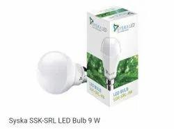 Syska Cool Daylight SSK-SRLl-9W B22 Base