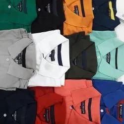 Cotton Half Sleeve Mens Polo T Shirt