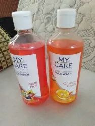 My Care Face Wash 500 Ml. Mrp - Rs 150/-