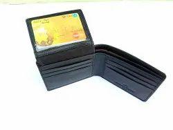 Male Bifold Slim Leather Wallet