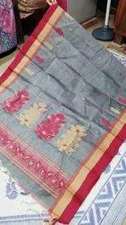 Pure Tant Cotton Weaving Sarees