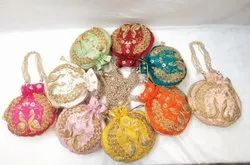 Designer and Stylish Embroidery Potli bags