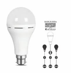 AC DC Rechargeable LED Bulb 9W