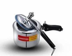 Carnival  3.5 Ltr Steel Regular Pressure Cooker