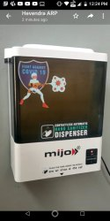 5 Litre Automatic Hand Sanitizer Dispenser