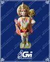 Marble hanuman ji moorti
