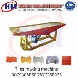 Tiles making machine