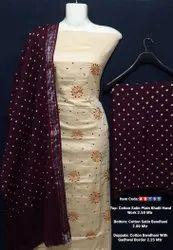 Cotton satin suits
