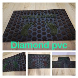 Multicolor Diamond Pvc Mat
