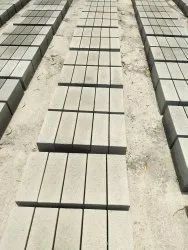 Concrete Rectangular Solid Blocks, For Side Walls, Size: 6