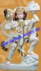 Marble Veer Hanuman Ji  Statue