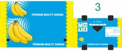 White Die-Cut Banana 13 Kg Export Corrugated Packing Box, Size(LXWXH)(Inches): 510 * 350 * 215 Mm (od)