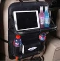 Back seat organiser with food tray
