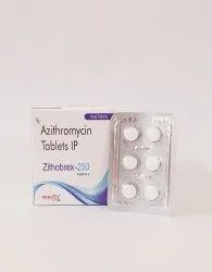 Zithobrex-250 Azithromycin 250mg Tablets IP
