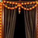 Marigold Artificial Flowers Toran