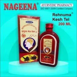 Nageena 200 ml Rahnuma Kesh Oil, Liquid, Packaging Type: Bottle