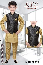 Boy Kids Ethnic Sadri Jacket Suits