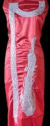 Zari Work Silk Tilla Embroidered Suits