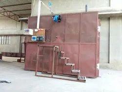 Moksha International Steel Powder Coating Oven - Gas Fired, Cross-Flow Type, Automation Grade: Automatic