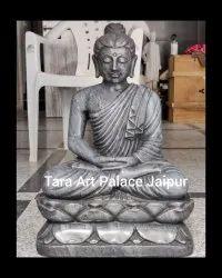 Black Buddha Statue