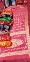 Bandhej Ghatchola Banarasi Vicos Sarees