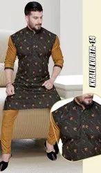 Mens Magic Pajama Kurta Fabric