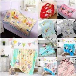 Imported Polywoolen Baby Blanket, 0-5 Yr, Size: 100x130 Cm,100x140 Cm