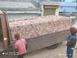 Rectangular Red Bricks, Size: 9*4*3 10*5*4