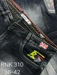 Faded Regular Fit Mens jeans
