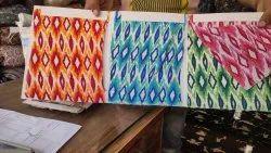 Crepe Printed Fabrics, Block Print