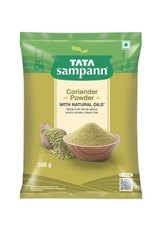 Natural Green Tata Sampann Coriander Powder, 500 g