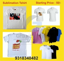 Polyester Printed T Shirt Printing Services