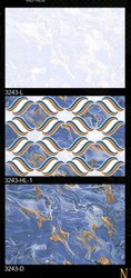 Natural Mosaic Blue 12x18 Digital Wall Tiles, Thickness: 5-10 mm, Size: 60 * 60 (cm)
