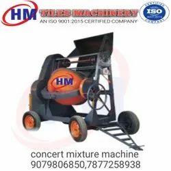 Concert mixture machine