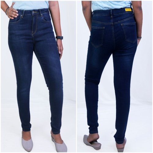 Women' S Skinny Jeans High Waist Dark Wash