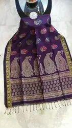 Organic Linen Weaving Sarees
