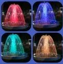 Double Dome Water Fountain