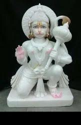 Marble Veer Hanuman Moorti