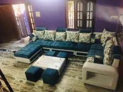 U shape corner sofa set